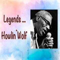 Legends: Howlin' Wolf album art