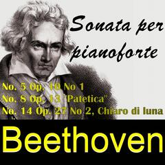 Beethoven Sonata per pianoforte - No. 5 - No. 8 - No. 14