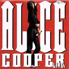 Alice Cooper Live album art