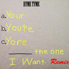 You're the One I Want (Remix) album art