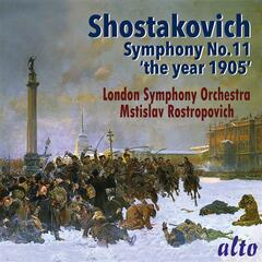 "Shostakovich: Symphony No.11 ""The Year 1905"" album art"