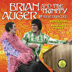 Untold Tales Of The Brian Auger Trinity album art