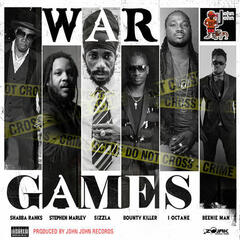 War Games (feat. Stephen Marley, Sizzla, Bounty Killer, I-Octane & Beenie Man) - Single album art