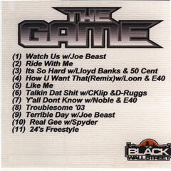 The Game Mix CD, Vol. 1