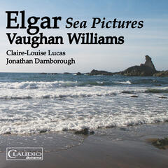 Elgar & Vaughan Williams: Sea Pictures album art