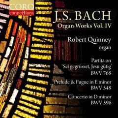 J. S. Bach: Organ Works, Vol. IV album art