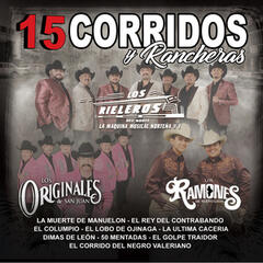 15 Corridos y Rancheras album art