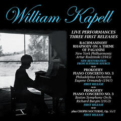 Live Performances -  First Three Releases (Restored) album art