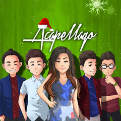 Acapellago Christmas album art