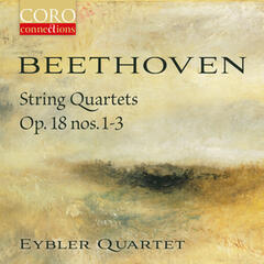 Beethoven String Quartets Op. 18, Nos. 1-3 album art