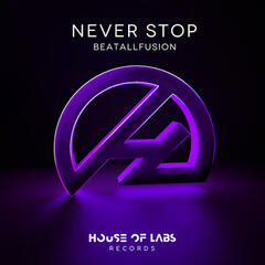 Never Stop album art