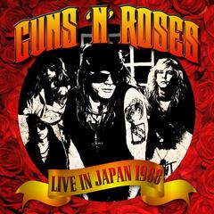 Live in Japan 1988 album art