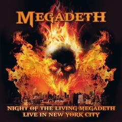 Night of the Living Megadeth - Live in New York City album art
