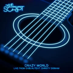 Crazy World (Live from Dublin) album art