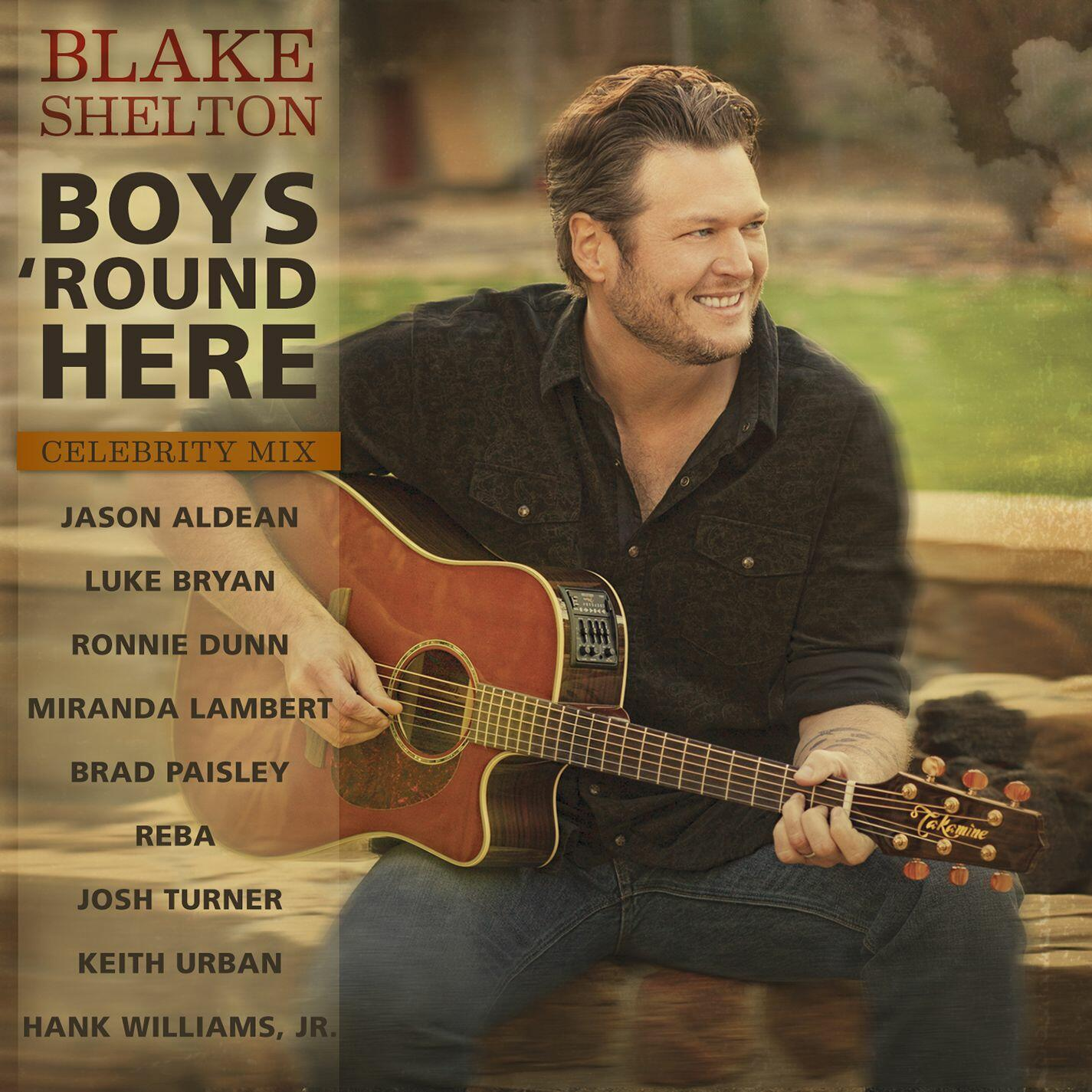 Blake Shelton - Boys 'Round Here ft. Pistol Annies ...