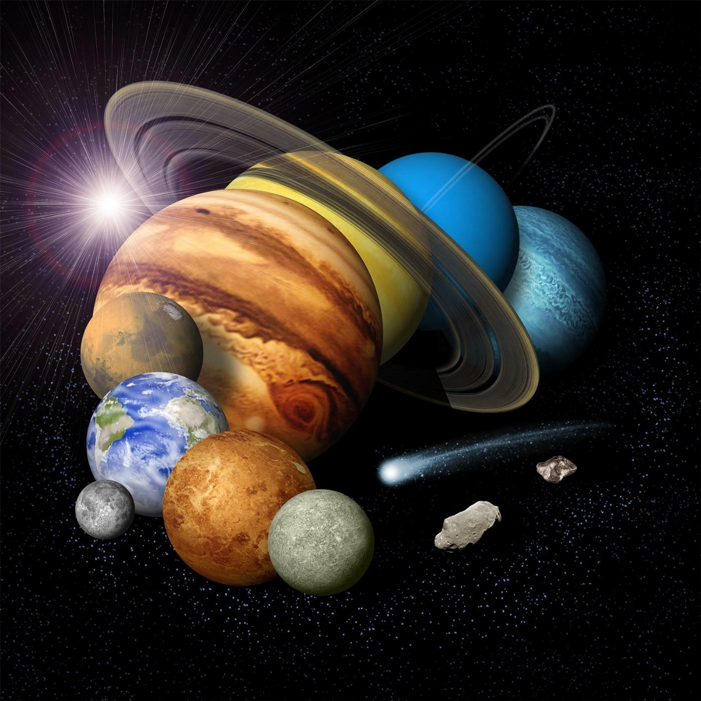 planets postage us postal service issues new solar system - HD1600×944