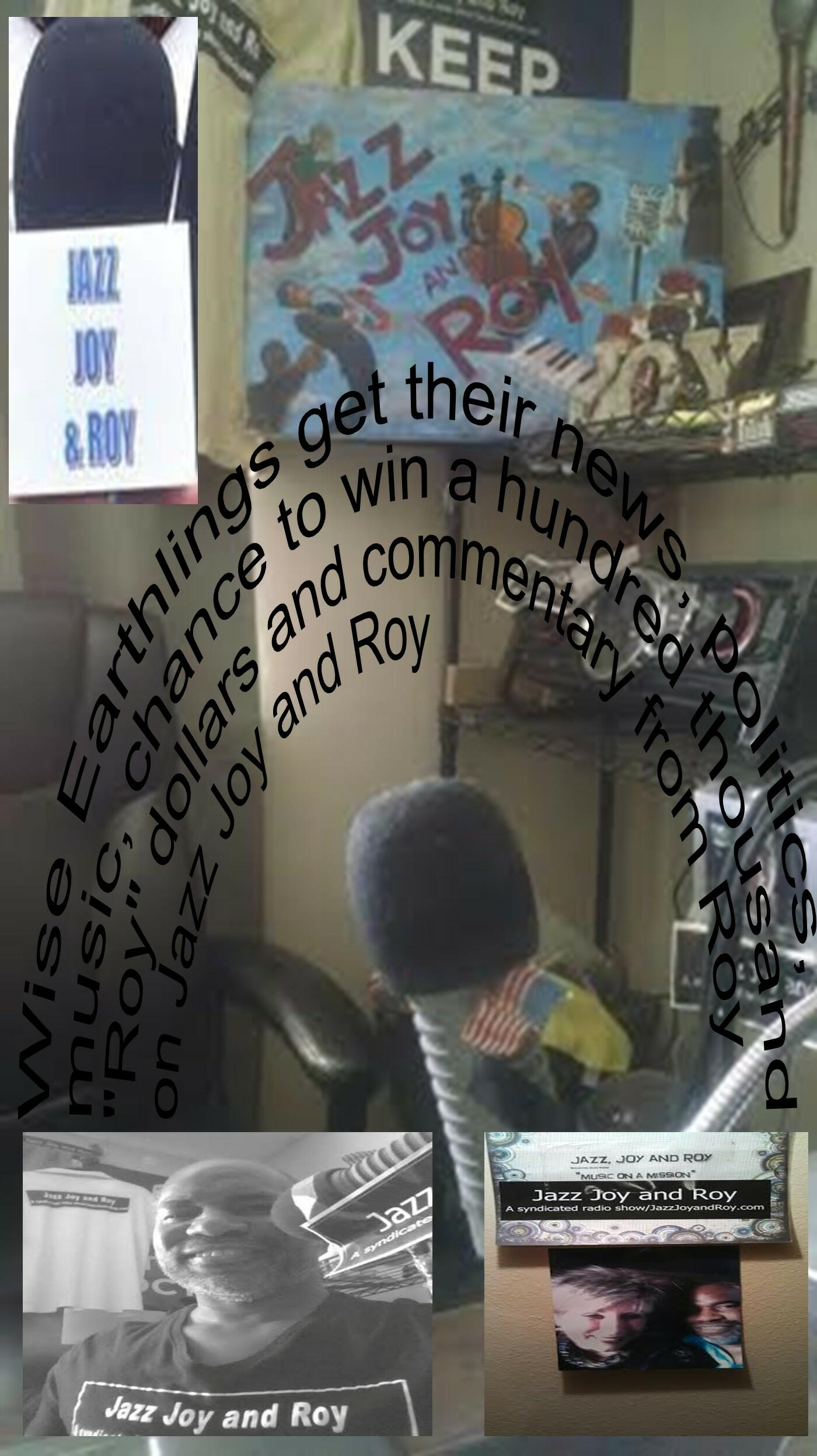 Image result for News and Politics From Jazz Joy and Roy